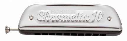 Губная гармоника хроматическая HOHNER Chrometta 10