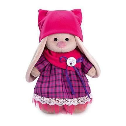 Мягкая игрушка BUDI BASA Зайка Ми в платье со снудом и шапкой, 25 см