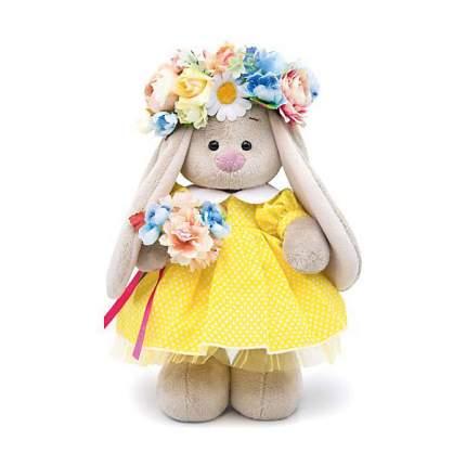 Мягкая игрушка BUDI BASA Зайка Ми в веночке, 25 см