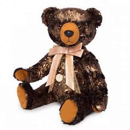 Мягкая игрушка BUDI BASA Медведь БернАрт золотой металлик, 34 см