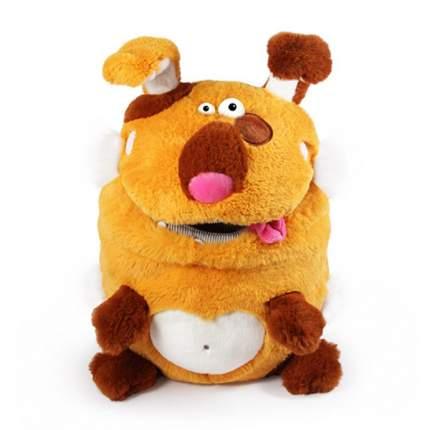 Мягкая игрушка BUDI BASA Пес Кармашки, 21 см