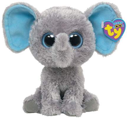 Мягкая игрушка Ty Inc Beanie Boo's Слон Peanut, 15 см