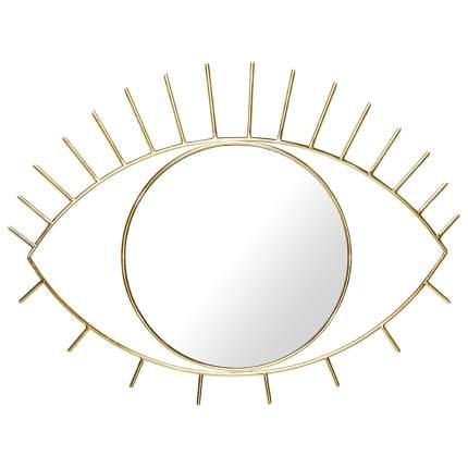 Зеркало настенное Cyclops большое золотое