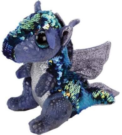 Мягкая игрушка Ty Inc дракон с пайетками, 25 см
