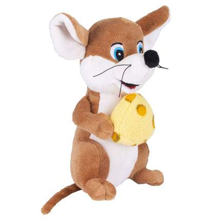 Мягкая игрушка SOFTOY Мышь, 18 см