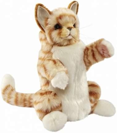 Мягкая игрушка на руку Hansa Рыжий кот, 30 см