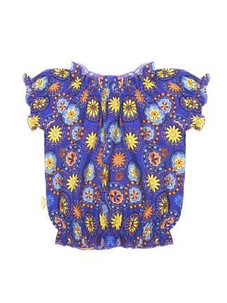 Топ для девочек Желтый кот 278к фиолетовый-98
