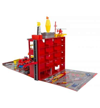 Пожарная станция Joy Toy Гараж с машинками и аксессуарами C326-H06014