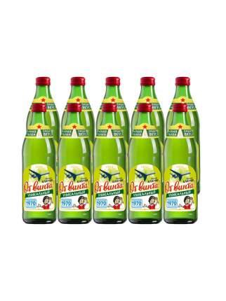 """Безалкогольный  напиток """"От Винта """"Золотой ключик"""" 0,45 л. Евровинт стекло, 10 штук"""