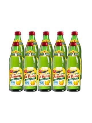 """Безалкогольный  напиток """"От Винта """"Груша"""" 0,45л. Евровинт стекло, 10 штук"""