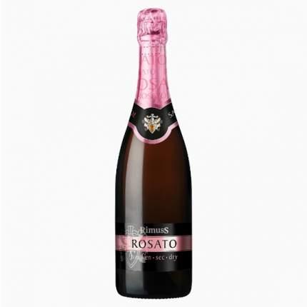 Вино безалкогольное RIMUSS  ROSATO игристое 0.75л