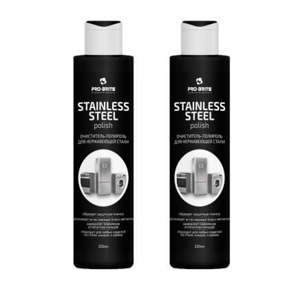 Pro-Brite Stainless Steel Очиститель-полироль для нержавеющей стали 200мл - 2 шт