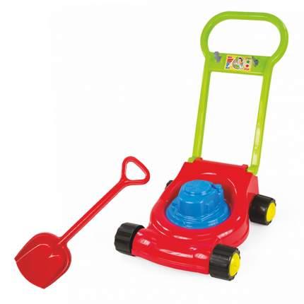 Игровой набор: Детская газонокосилка (15-10631)+ лопатка 50 см. (16-5391)