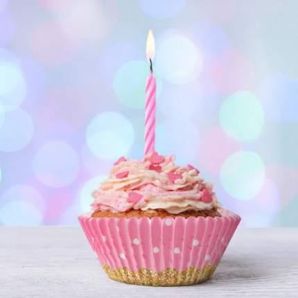 Небольшие свечи для торта 48 шт, 1312077, COSY