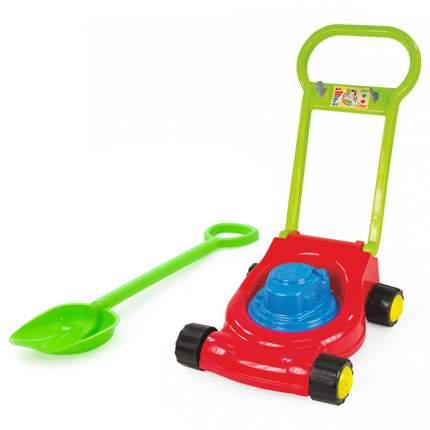 Игровой набор: Детская газонокосилка (15-10631)+ лопатка 50 см. (40-0004)