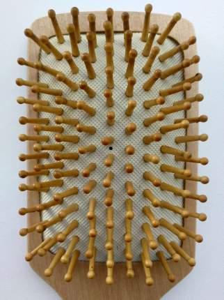 Щетка Dewal Beauty массажная с деревянным штифтом, лопата