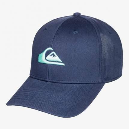 Бейсболка Quicksilver Decades, One Size, majolica blue