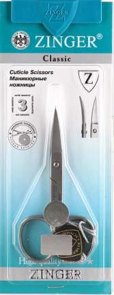 Ножницы Zinger маникюрные закругленные  109012
