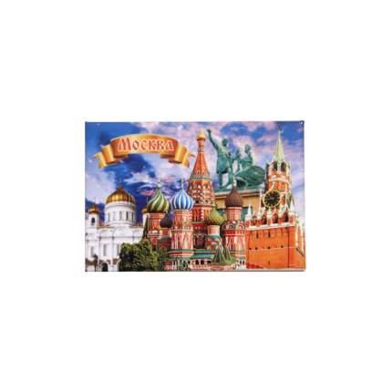 """Магнит закатной """"Москва. Коллаж 1"""", 55х80 мм"""