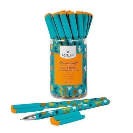 """Ручка масляная """"Color explosion. Cactus"""", 0,5 мм, синяя"""