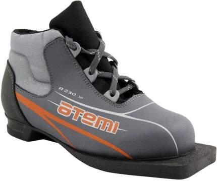 Ботинки для беговых лыж Atemi А230 2015, grey, 31