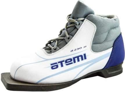Ботинки для беговых лыж Atemi А230 2015, white, 31