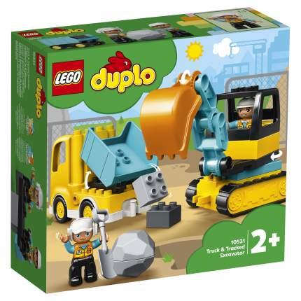 Конструктор LEGO DUPLO Town 10931 Грузовик и гусеничный экскаватор