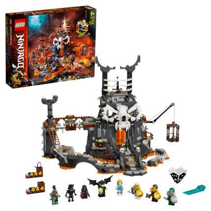 Конструктор LEGO NINJAGO 71722 Подземелье колдуна-скелета