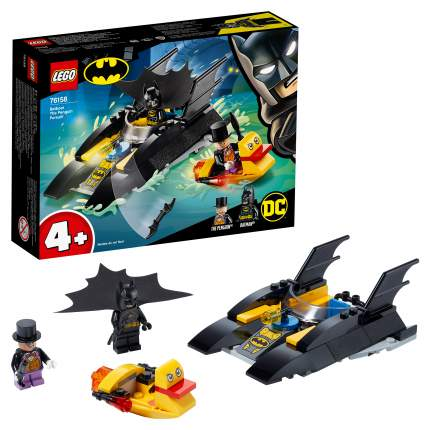 Конструктор LEGO DC Comics Super Heroes 76158 Погоня за Пингвином на Бэткатере