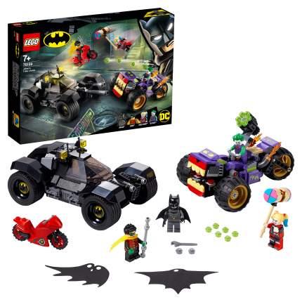 Конструктор LEGO DC Comics Super Heroes 76159 Побег Джокера на трицикле