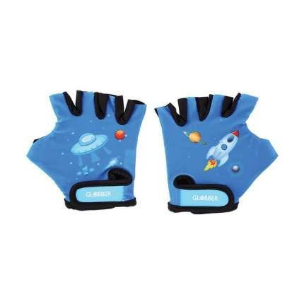 Велоперчатки Globber 528-100, синий, One Size