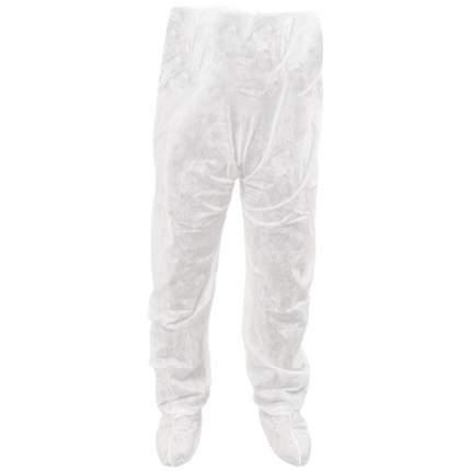 Штаны одноразовые для прессотерапии спанбонд белые 10 шт.