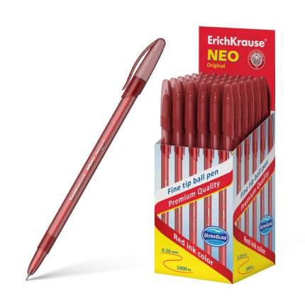 Ручка шариковая ErichKrause® Neo® Original, красный в коробке 50 шт