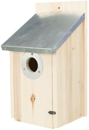 Скворечник с оцинкованной крышей для скворцов, 18 х 31 х 16 см/ф 4.5 см, Trixie (55859)