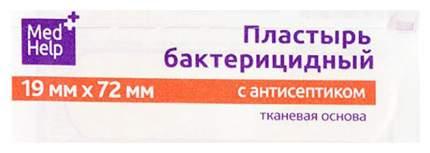 Пластырь бактерицидный MedHelp с антисептиком нетканая основа 1,9 x 7,2 см 1 шт.
