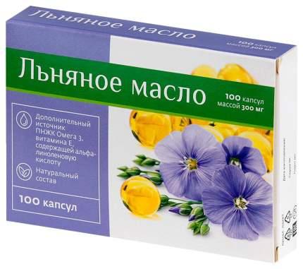 Масло льняное PL капсулы 100 шт.