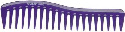 Гребень волна Dewal Beauty, фиолетовый, 18 см
