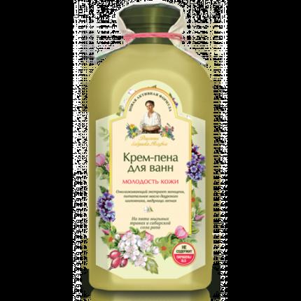 "Крем-пена для ванн Рецепты бабушки Агафьи ""Молодость кожи"", 500 мл"