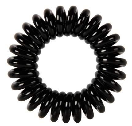 """Резинки для волос Dewal Beauty """"Пружинка"""", черный (3 штуки)"""