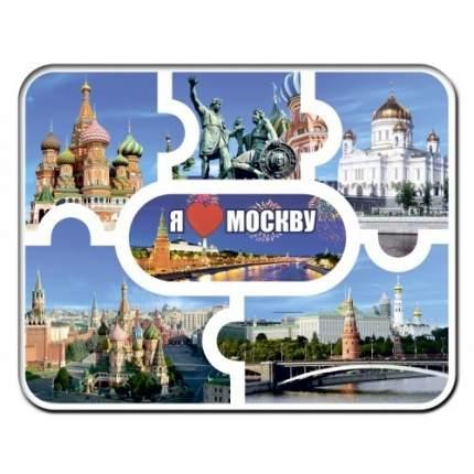 """Магнит-пазл """"Москва. Я люблю Москву"""", 95х120 мм"""