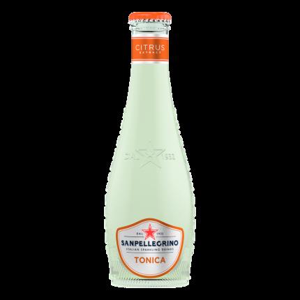 Напиток безалкогольный газированный S.Pellegrino Tonica Citrus, 4 шт по 0,20л