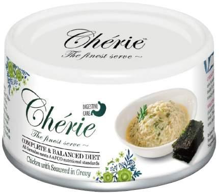 Консервы для кошек Pettric Cherie Adult Comlete&Balanced Diet Digestion курица 24шт по 80г