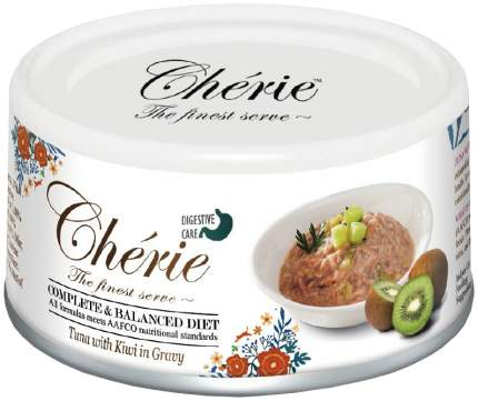 Консервы для кошек Pettric Cherie Adult Comlete&Balanced Diet Digestion, тунец 24шт по 80г