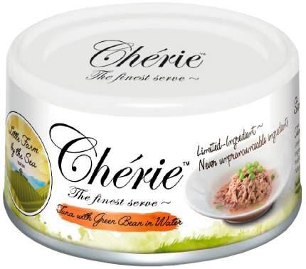 Консервы для кошек Pettric Cherie Little Farm by the Sea, с тунцом и фасолью, 24шт по 80г