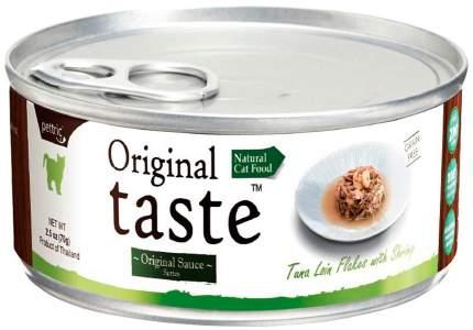 Консервы для кошек Pettric Original Taste Adult Grain Free, тунец и креветки, 24шт по 70г