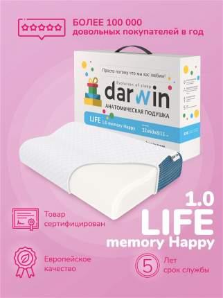 Подушка ортопедическая Darwin Life 1.0 Memory Happy