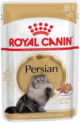 Влажный корм для кошек ROYAL CANIN Persian Adult, персидская, паштет, 12шт по 85г