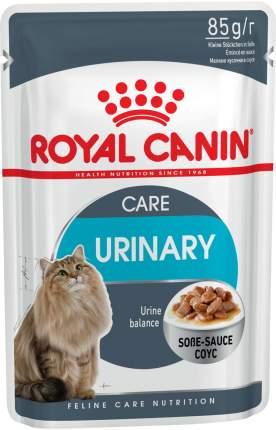 Влажный корм для кошек ROYAL CANIN Urinary Care, при МКБ, соус, 12шт по 85г