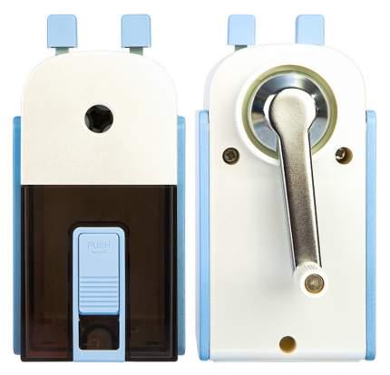 Точилка для карандашей механическая Deli 71150LT-BLUE металл