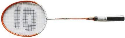 Ракетка для бадминтона Atemi, алюмин/сталь, чехол 1/2, оранж/бел, BA-180